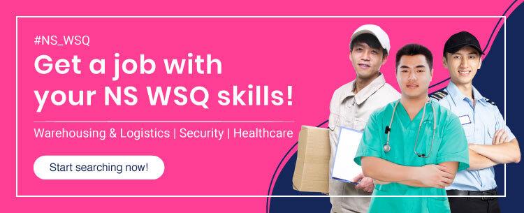 Jobs for NSMen - WSQ is now hiring on FastJobs!